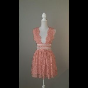 NBD Phoenix Dress in Blush